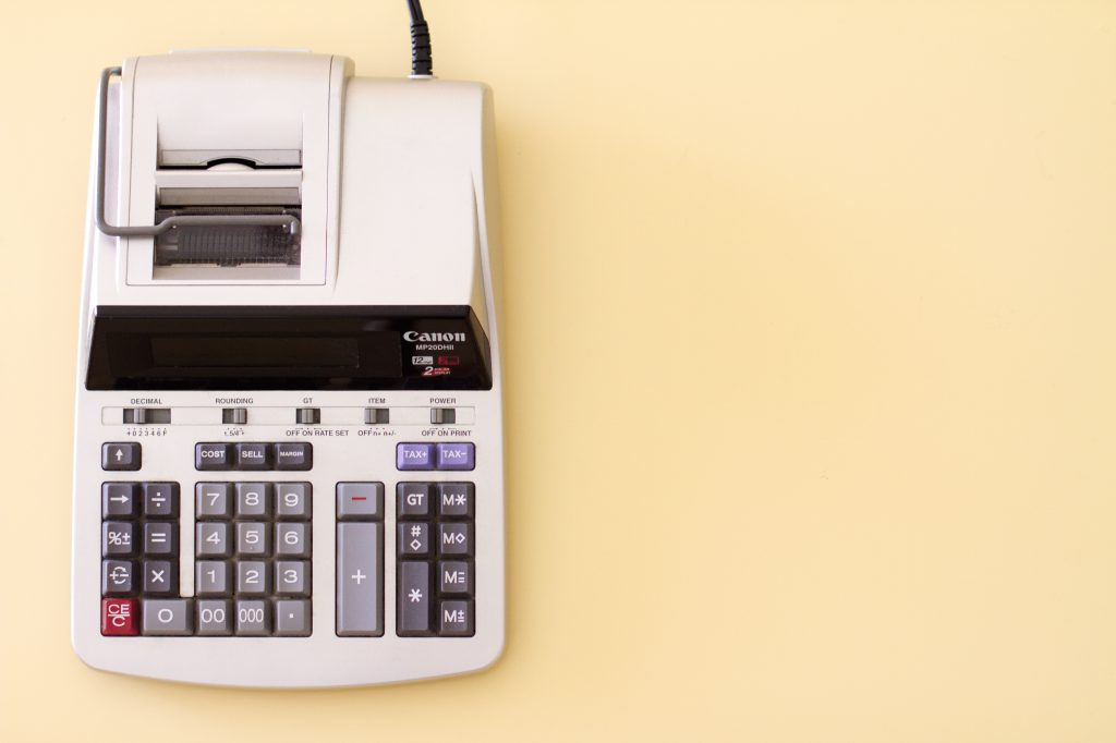 cash register calculator