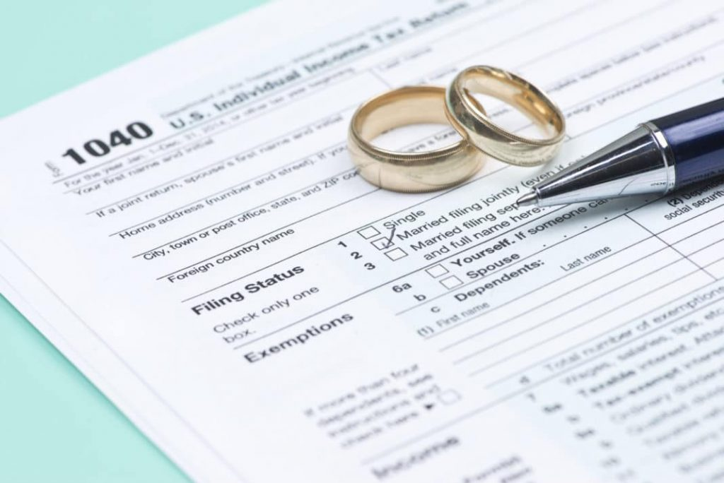 married tax filing jointly
