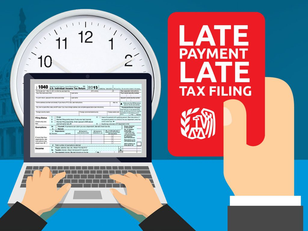 late tax payment